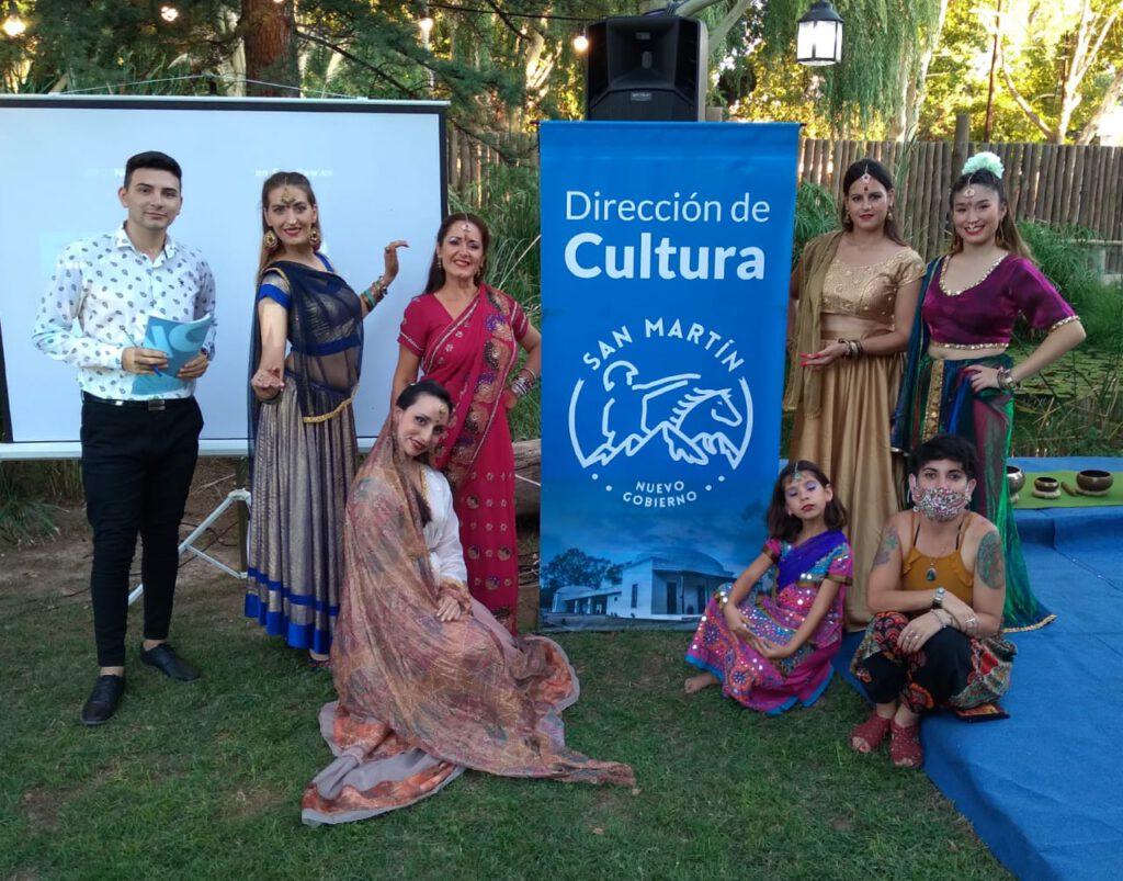 Evento realizado en San Martin para difundir la cultura de India en Mendoza